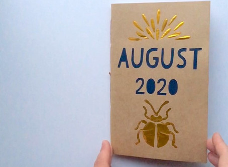 August Art Journal!