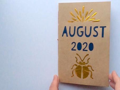 August Art Journal!