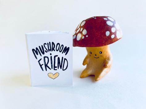 Mushroom Sculptures!