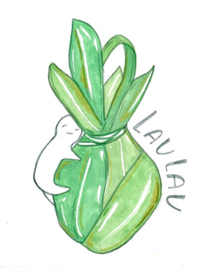 Laulau from Food Babies Zine