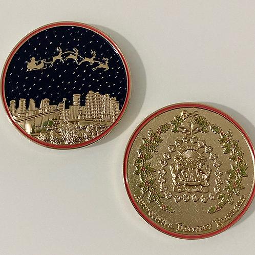 2020 Christmas Coin