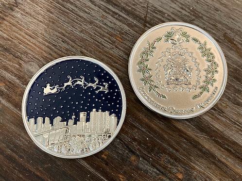 2019 Christmas Challenge Coin