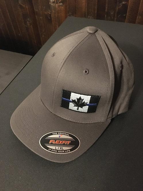 Dark Gray Flexfit Hat