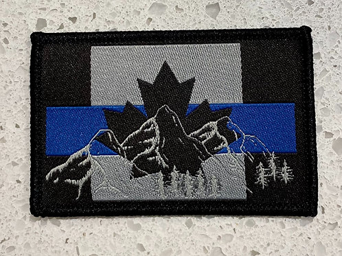 Canadian Flag TBL Rocky Mountain Patch