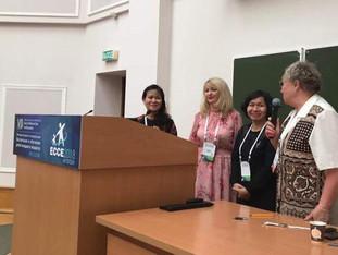 Доклад Татьяны Шининой на научной секции «Игровая деятельность детей» ECCE-2018