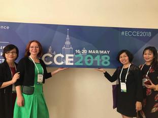 Доклад Ирины Галасюк на научной секции «Общение ребенка и взрослого» ECCE-2018