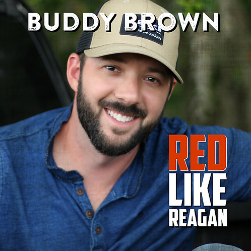 "Signed Copy ""Red Like Reagan"" 12 Songs!"