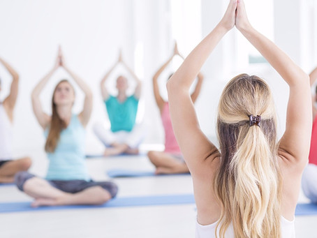 Can't touch your toes? You can still do yoga!