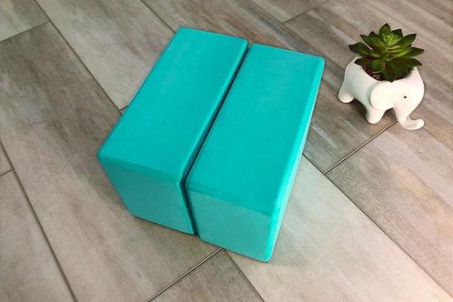 Turquoise Blocks (set of 2)