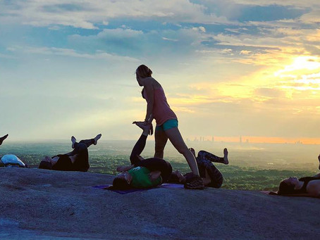 Stone Mountain Hike + Sunset Yoga to benefit Project Zawadi
