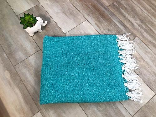 Ocean Blue Yoga Blanket