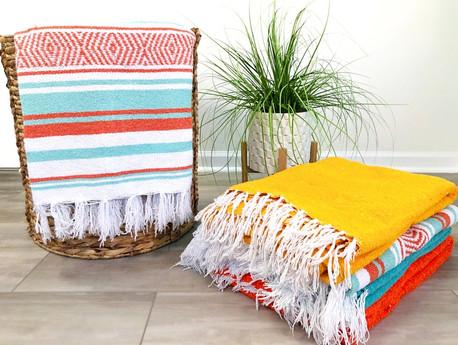 Woven Yoga Blankets