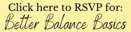 Free Class on Balance