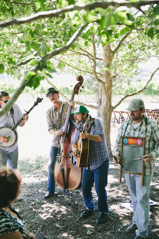 wedding ceremony band