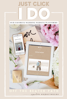 Just Click I Do – Wedding Websites