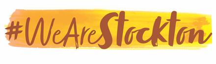 #WeAreStockton Campaign Logo