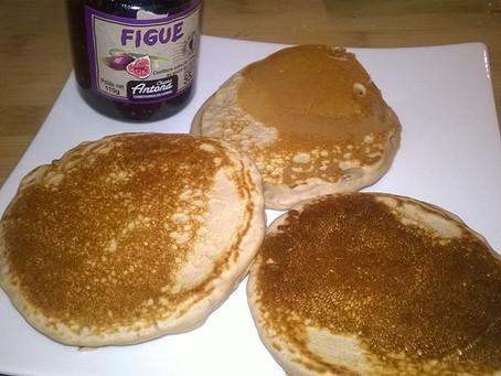 Les pancakes à la farine de châtaignes