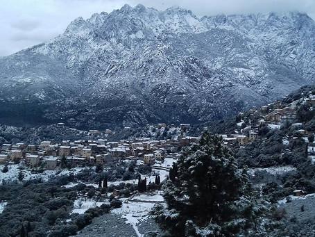La neige sur Moltifao