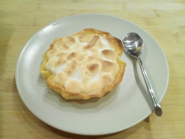 tarte au citron meringuées
