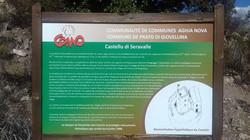 le panneau du château