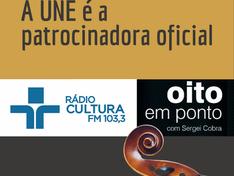 A UNE é patrocinadora oficial do Oito em Ponto