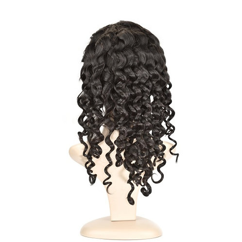 Frontal Wig: Brazilian Deep Wave