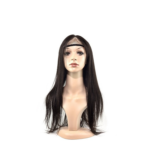 Frontal Wig: Brazilian Straight