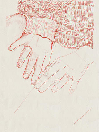 Hands in Red
