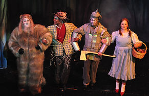 The Wizard Of Oz 2011 at The Palace Theatre Redditch.