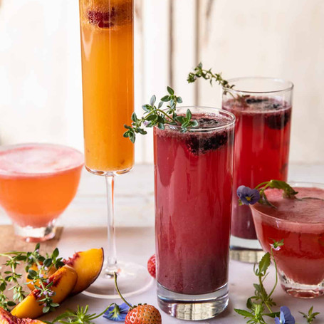 FUN COCKTAILS TO END SUMMER + WELCOME FALL