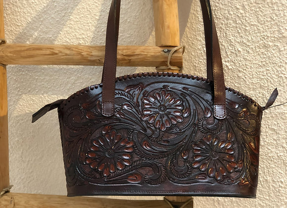 Hand Carved Purse