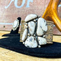 White Buffalo Sterling Silver