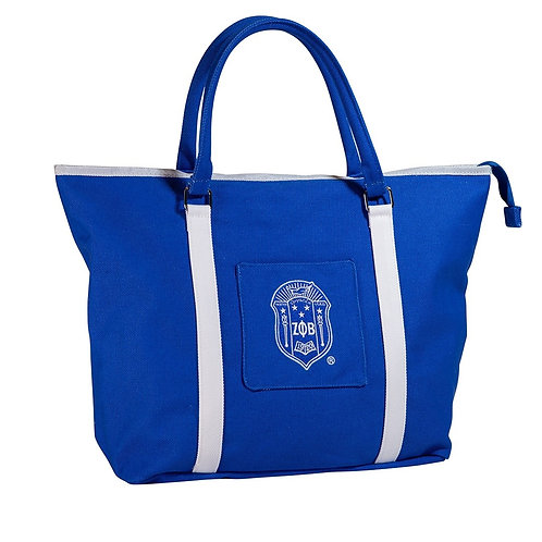 Zeta Phi Beta Canvas handbag