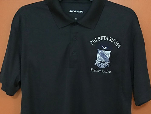 Phi Beta Sigma Sport Wick Polo