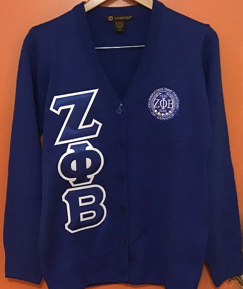 Zeta Phi Beta Centennial Sweater
