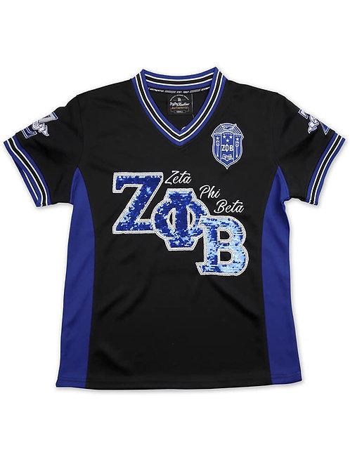Zeta Phi Beta Football Jersey
