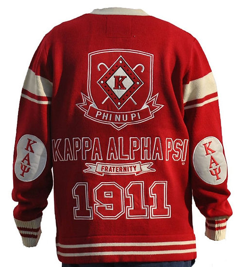 Kappa Alpha Psi Cardigan Sweater