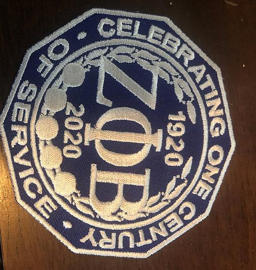 Zeta Phi Beta Centennial Patch