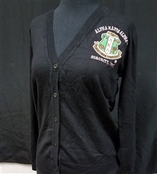 Alpha Kappa Alpha Button Cardigan
