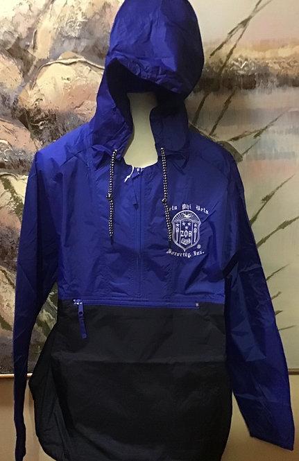 Zeta Phi Beta Packable Nylon Jacket