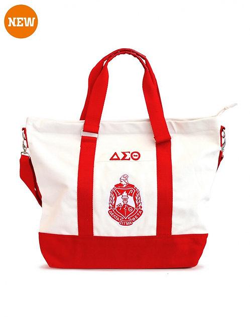 Delta Sigma Theta Canvas Bags