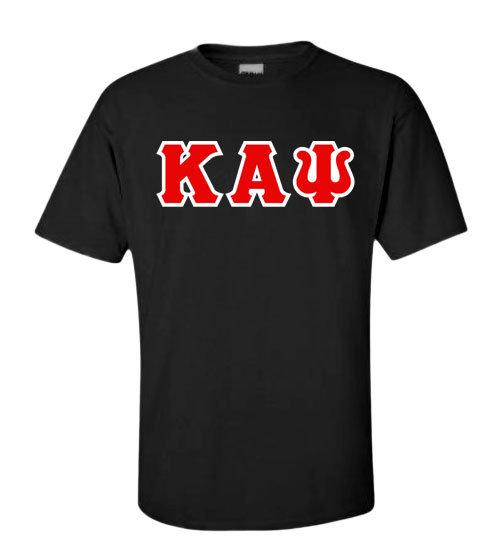Classic Kappa Alpha Psi Greek Letters T-shirt