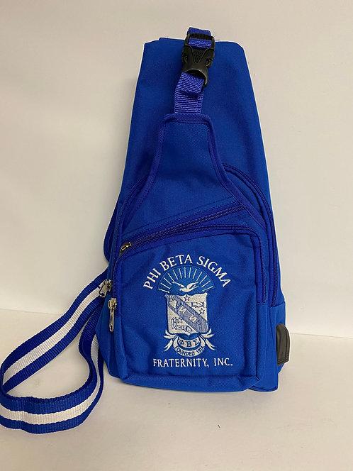 Phi Beta Sigma Shoulder Sling Bag