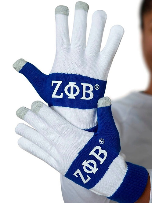 Zeta Phi Beta Knit Texting Gloves