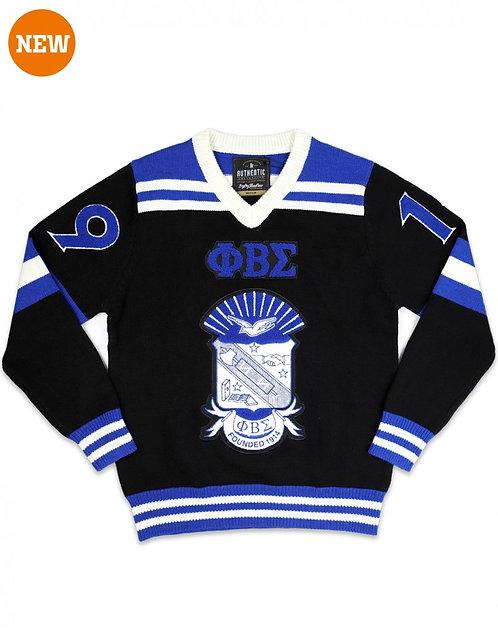 Phi Beta Sigma VNeck Sweater