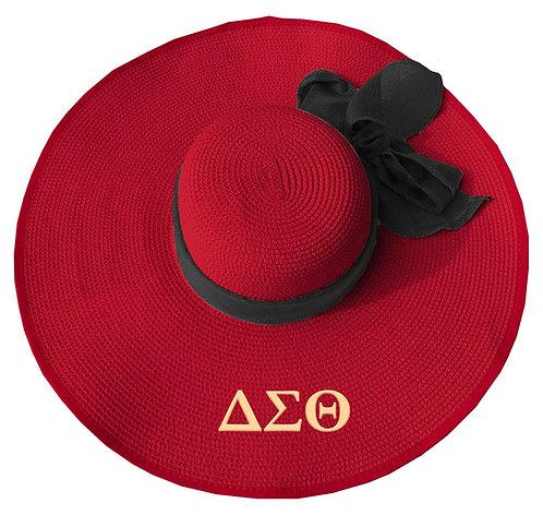 Delta Sigma Theta Floppy Summer Hat