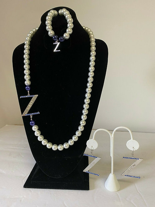Zeta Phi Beta Pearl Sets