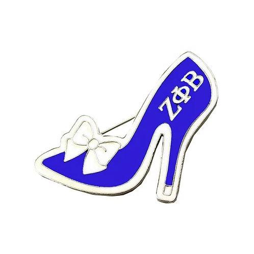 Zeta Phi Beta Shoe Pin