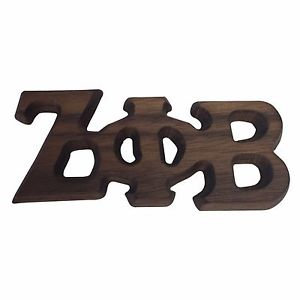 Zeta Phi Beta Large Wood Pin