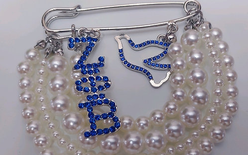Zeta Phi Beta Pearl Popping Pin